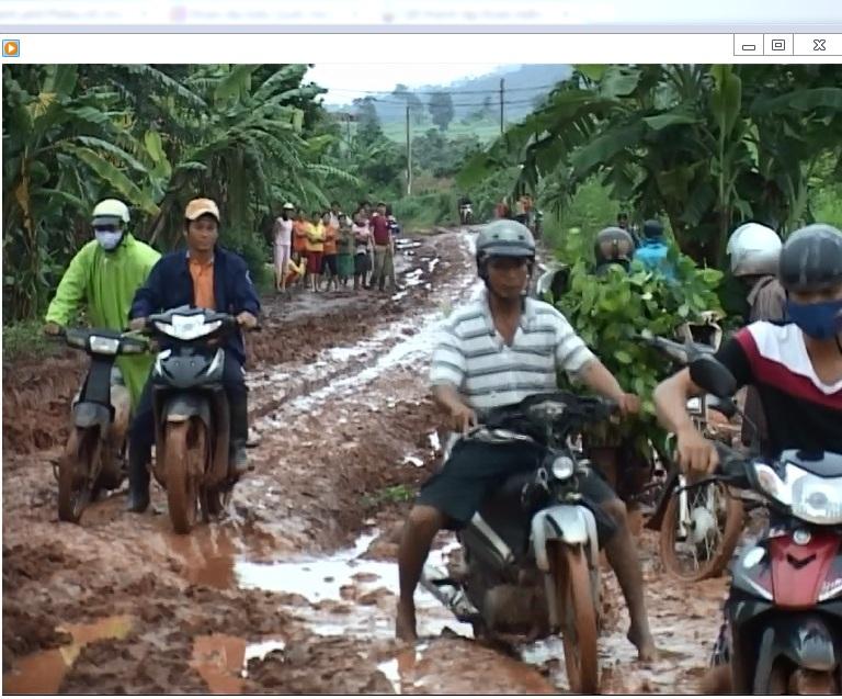 Đường liên huyện Chư Pưh- Chư Prông sẽ được sữa chữa
