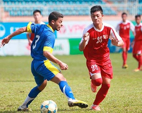 Ti Phông ghi cú đúp, U19 VN thắng đậm ở Bỉ