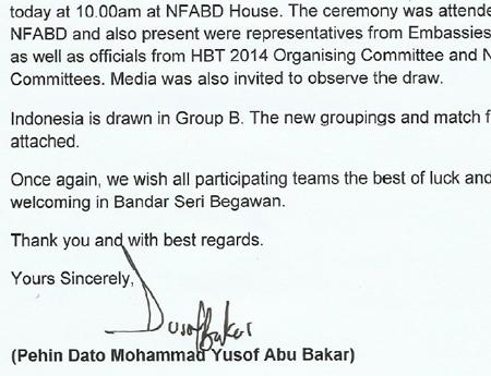 AFF gửi thư xác nhận U19 Indonesia sẽ nằm chung bảng với U19 Việt Nam