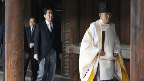 Báo Trung Quốc kêu gọi trả đũa khi ông Abe thăm đền Yasukuni