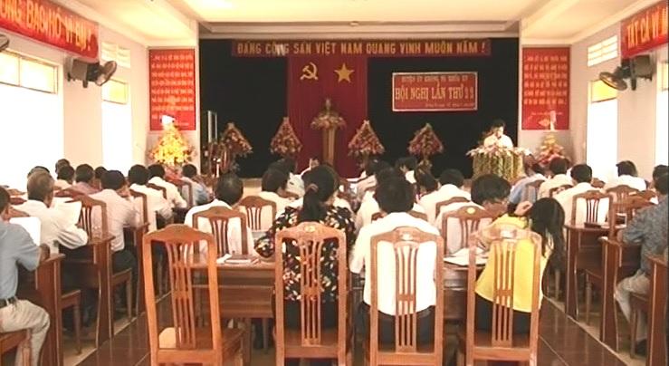 BCH Đảng bộ huyện Krông Pa (khóa XV): Hội nghị lần thứ 22 (mở rộng)