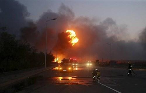 Trung Quốc ngăn chặn thông tin về vụ cháy nổ kinh hoàng ở Thiên Tân