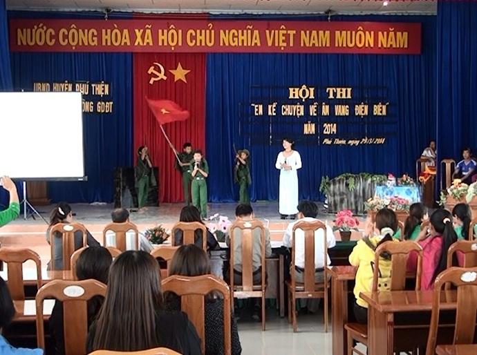 Huyện  Phú Thiện tổ chức Hội thi em kể chuyện âm vang Điện Biên.