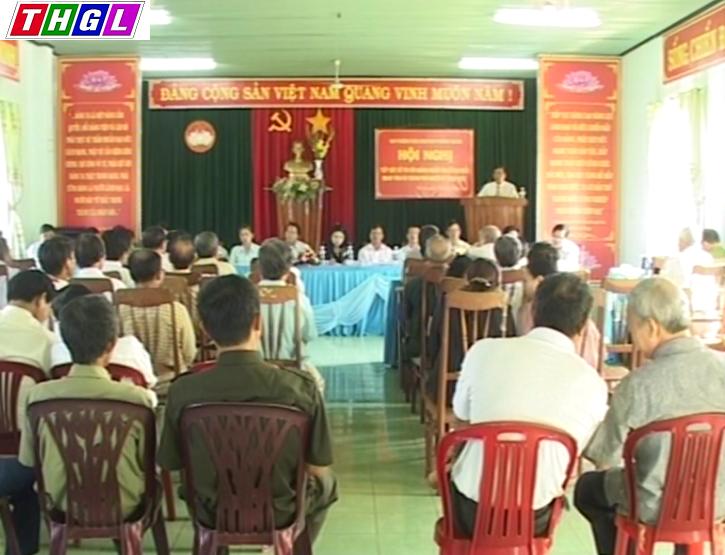 Ứng cử đại biểu Hội đồng nhân dân 3 cấp tiếp xúc cử tri phường Trà Bá và Phù Đổng và xã Chư Hđrông