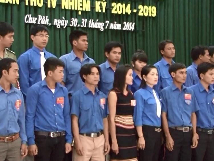 Hội Liên hiệp Thanh niên huyện ChưPăh tổ chưc Đại hội đại biểu lần thứ IV (Nhiệm kỳ 2014-2019)