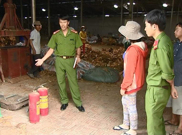 Nhiều cơ sở sản xuất kinh doanh tại Ayun Pa chưa quan tâm đến công tác Phòng chống cháy nổ