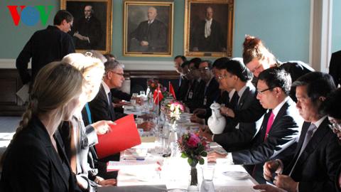 Chủ tịch nước hội kiến Chủ tịch Quốc hội Đan Mạch