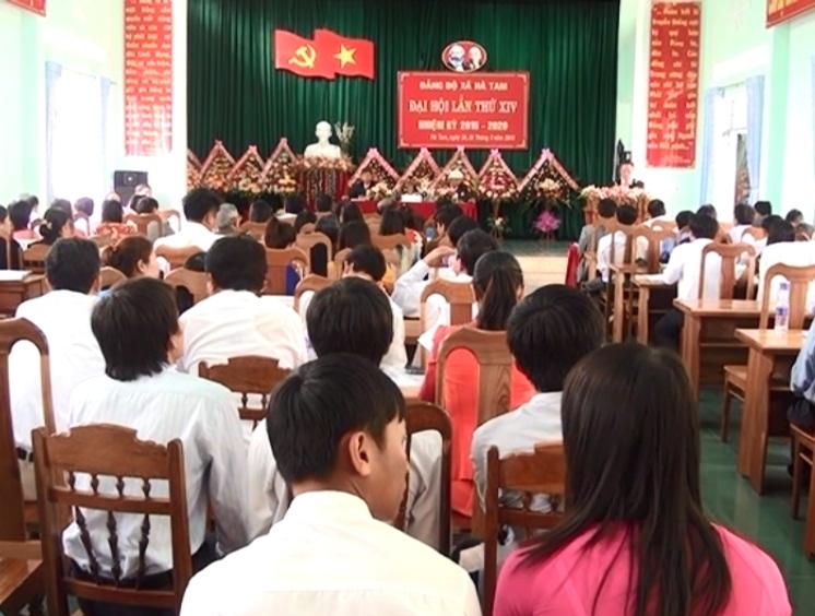 Hà Tam tổ chức thành công Đại hội đại biểu khóa 14.