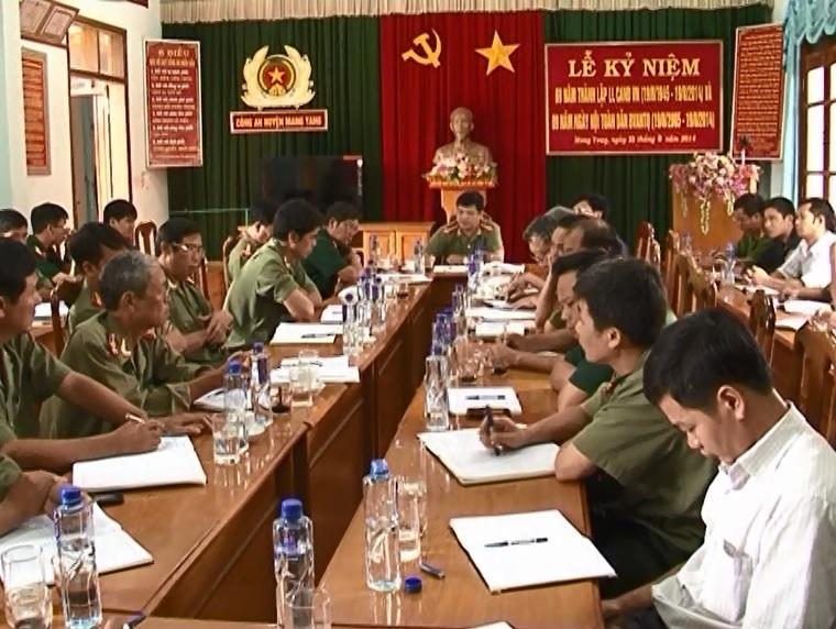 Hội nghị sơ kết công tác đấu tranh xóa bỏ tà đạo Hà Mòn tại MangYang