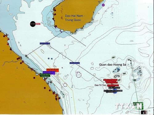 Giàn khoan Hải Dương-981 dịch chuyển ra ngoài vùng đặc quyền kinh tế và thềm lục địa của Việt Nam