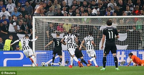 Juventus – Real: Đòn phản công sắc lẹm