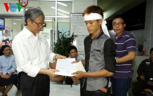 Đưa thi thể 12 nạn nhân Việt Nam bị TNGT tại Thái Lan về nước