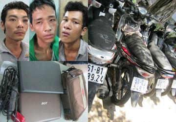 Phá nhóm cướp giật nghiện ma túy