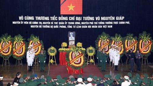 Truyền thông quốc tế dồn dập đưa tin Lễ tang Đại tướng