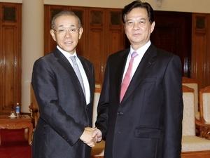 Thủ tướng Nguyễn Tấn Dũng tiếp Đại sứ Nhật Bản