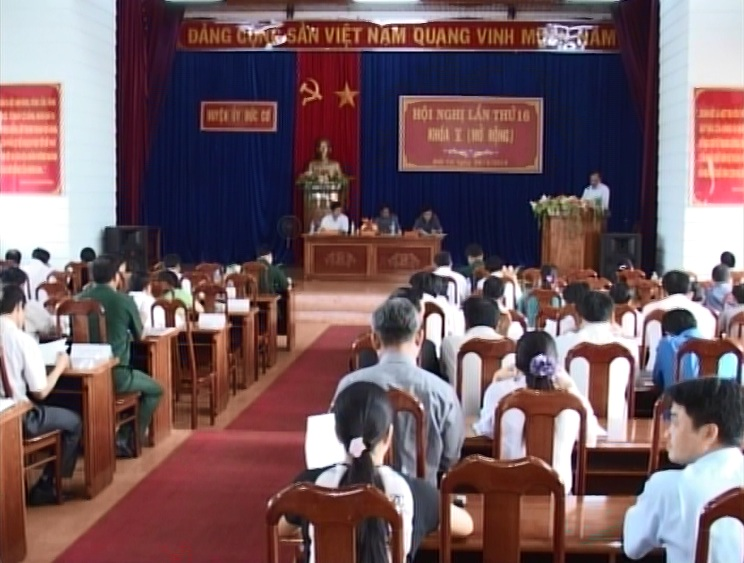 Chuyển biến từ thực hiện Nghị quyết Trung ương 4 khóa XI ở Đảng bộ huyện Đức Cơ