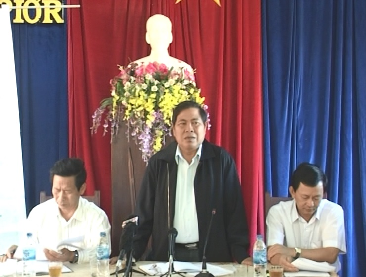 TAND tỉnh Gia Lai giao ban quý 1 và sơ kết công tác thi đua 6 tháng đầu năm 2014