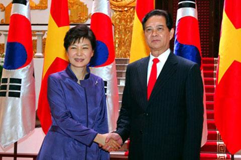 Quan hệ Việt-Hàn đang phát triển toàn diện và hiệu quả