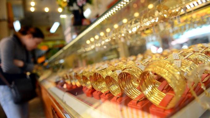 Vàng trong nước giảm 500.000 đồng/lượng/tuần