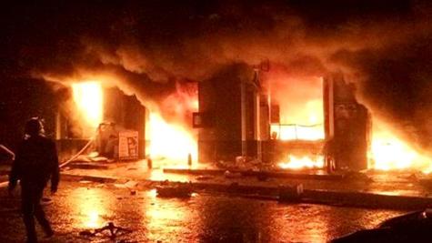 Vụ cháy chợ Phố Hiến: Hệ thống chữa cháy chỉ làm cảnh?