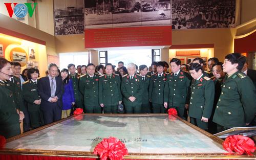 Bản đồ chiến dịch Hồ Chí Minh được công nhận là bảo vật quốc gia