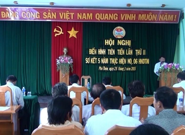 Hội Nông dân huyện Phú Thiện tổ chức Hội nghị điển hình tiên tiến lần thứ II