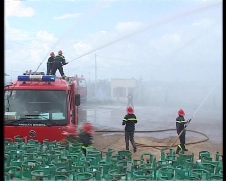 Tăng cường công tác phòng chống cháy nổ tại các cơ sở sản xuất, kinh doanh khí gas.