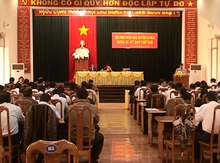 Kỳ họp thứ 8, HĐND Huyện IaGrai khóa XI