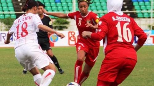 Giải vô địch bóng đá nữ AFF 2013      Tuyển Việt Nam thắng đậm Jordan 4-0