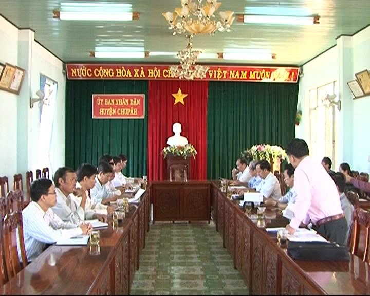 HĐND tỉnh tiếp tục giám sát ban hành văn bản qui phạm pháp luật, tại huyện Chư Păh.