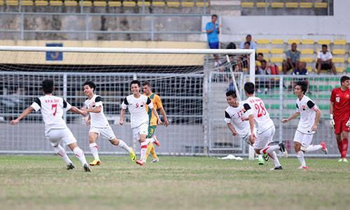U19 Việt Nam đè bẹp U19 Australia 5-1