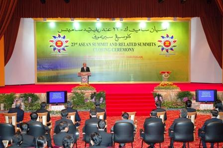 Bế mạc Hội nghị Cấp cao ASEAN lần thứ 23