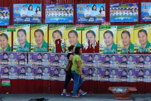 Philippines sẵn sàng cho một cuộc bầu cử cam go