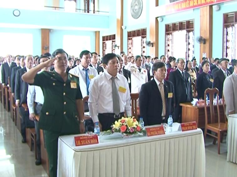 Khai mạc Đại hội Đảng bộ thị xã An khê lần thứ XVI nhiệm kỳ 2015 – 2020