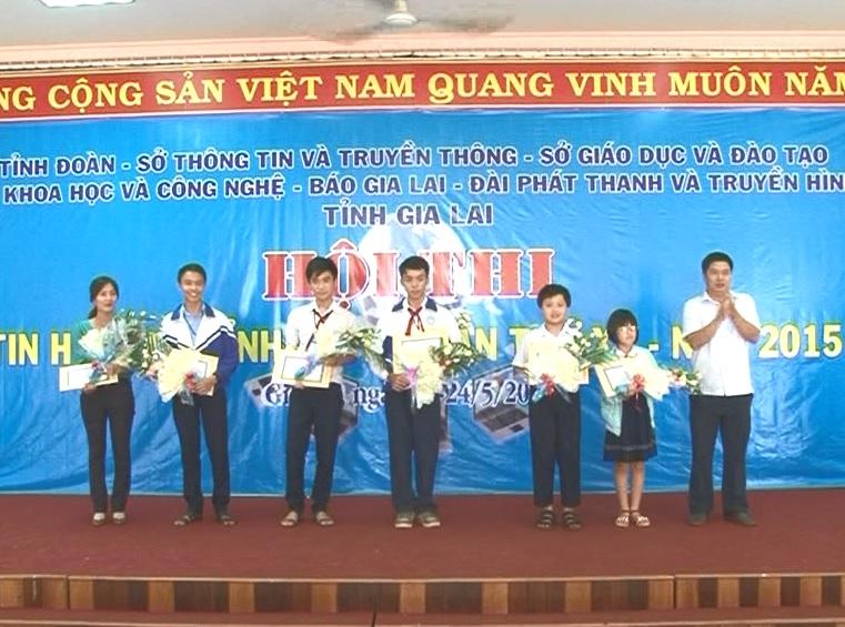 Bế mạc hội thi tin học trẻ tỉnh Gia Lai lần thứ XV
