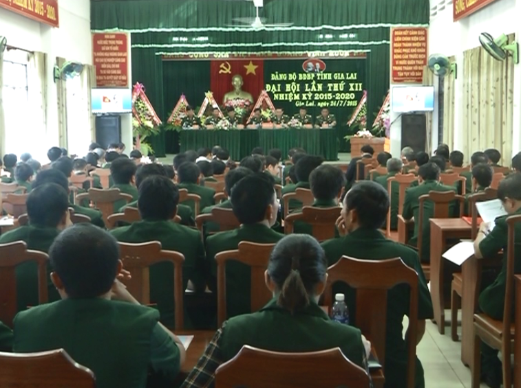 Đại hội  Đảng bộ Bộ đội biên phòng tỉnh lần thứ XII, nhiệm kỳ 2015-2020