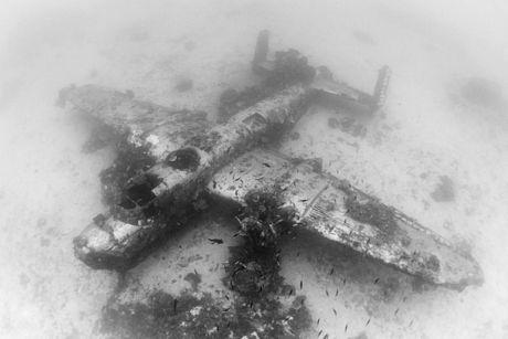 Cận cảnh nghĩa địa máy bay dưới đáy Thái Bình Dương