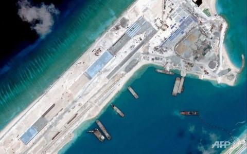 Mỹ cảnh báo việc Trung Quốc dùng sân bay nhân tạo ở Biển Đông