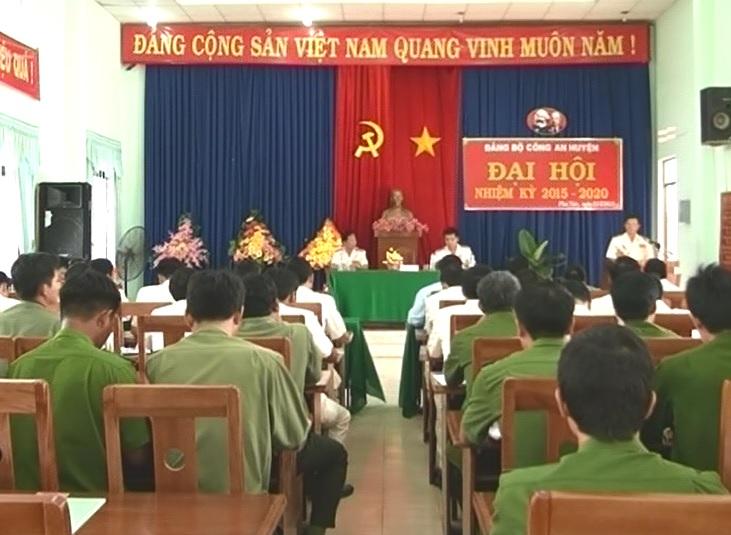 Đại hội Đảng bộ Công an huyện Krôngpa nhiệm kỳ 2015-2020