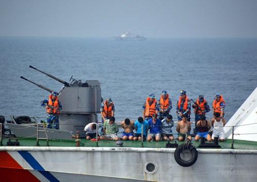 Cảnh sát biển Việt Nam chống cướp biển có vũ trang