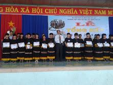 Trường THPT dân tộc nội trú Đông Gia Lai tổng kết năm học  2014-2015