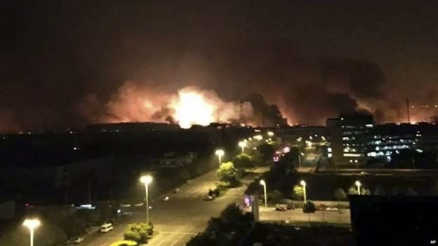 Nổ lớn ở Thiên Tân: ít nhất 13 người chết, 250 bị thương