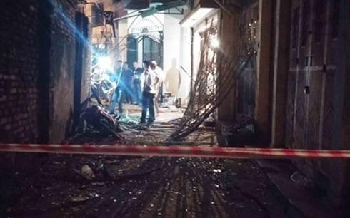 Khởi tố vụ đặt thuốc nổ làm 1 người chết ở ngõ Thông Phong- Hà Nội