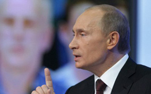Tổng thống Putin đối thoại trực tiếp với người dân Nga vào ngày 14/4