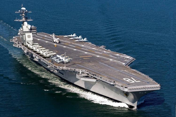 Chiêm ngưỡng 8 tàu sân bay đáng chú ý nhất thế giới