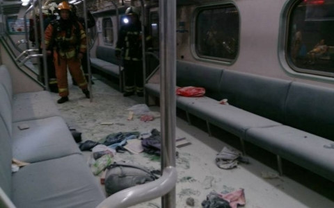 Nổ tàu điện Đài Loan (Trung Quốc), 24 người bị thương