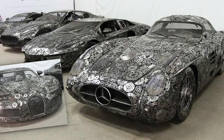 Độc đáo những siêu xe chế tạo từ phế thải