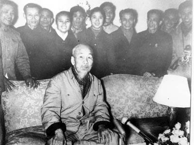 Chương trình kỷ niệm 70 năm Bác Hồ đọc thơ chúc Tết trên Đài TNVN