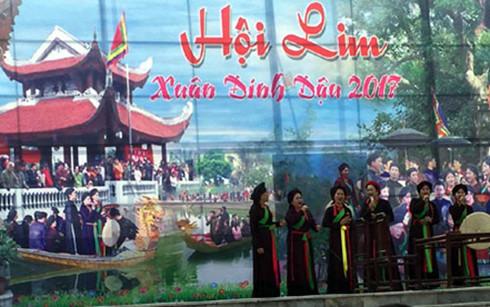 Bắc Ninh: Khai hội Lim năm 2017