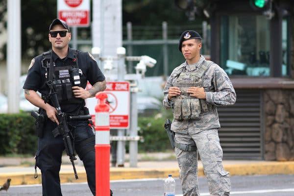 Vụ nổ súng ở Trân Châu cảng: Thủy thủ nổ súng làm chết 2 dân thường